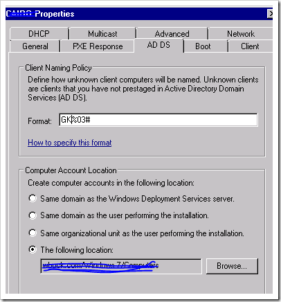 Capture3 thumb Windows Deployment Services, WAIK & Windows 7 – Part 3/4 windows 7 windows 2008 r2 windows windows