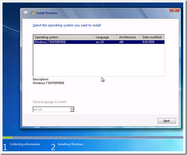 Capture78 thumb Windows Deployment Services, WAIK & Windows 7 – Part 3/4 windows 7 windows 2008 r2 windows windows