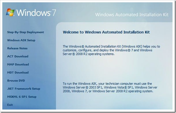 Capture thumb Windows Deployment Services, WAIK & Windows 7   Part 2/4 windows 7 windows 2008 r2 windows windows