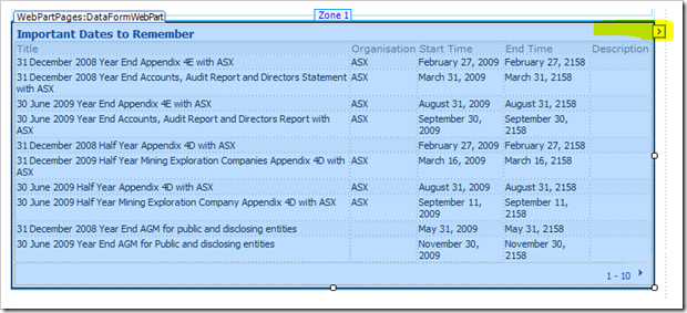 Capture13 thumb How to display a SharePoint List from another site using the Data View Web Part sharepoint 2007