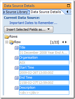 Capture7a thumb How to display a SharePoint List from another site using the Data View Web Part sharepoint 2007