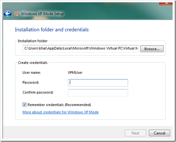 clip image013 thumb How to setup XP Mode on Windows 7 windows 7 virtualisation