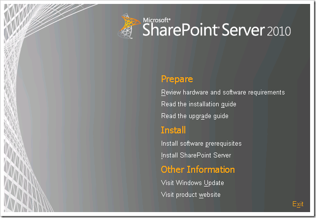 clip image001 thumb Installing SharePoint 2010 Beta on a Windows 2008 R2 Server sharepoint 2010