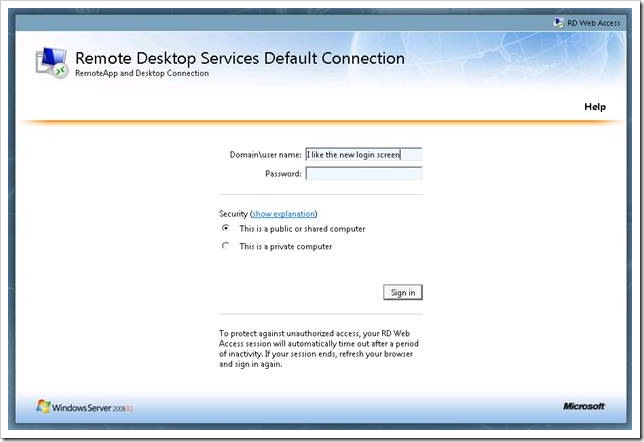 clip image002 thumb2 Remote Desktop Services in Windows 2008 R2 – Part 3   RD Web Access & RemoteApp windows 2008 r2 windows