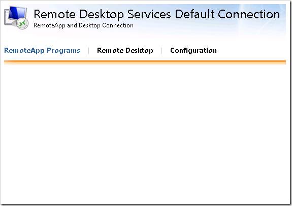 clip image009 thumb1 Remote Desktop Services in Windows 2008 R2 – Part 3   RD Web Access & RemoteApp windows 2008 r2 windows