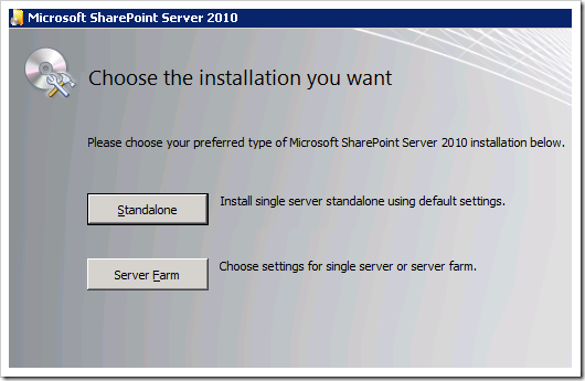 clip image010 thumb2 Installing SharePoint 2010 Beta on a Windows 2008 R2 Server sharepoint 2010