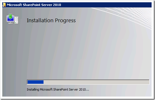clip image013 thumb1 Installing SharePoint 2010 Beta on a Windows 2008 R2 Server sharepoint 2010