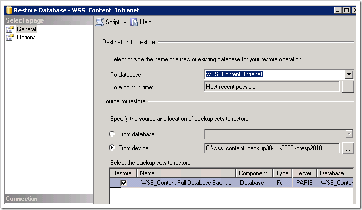 image thumb11 Upgrading your Content Database to SharePoint 2010   Database Attach method sharepoint 2010 sharepoint 2007 sharepoint