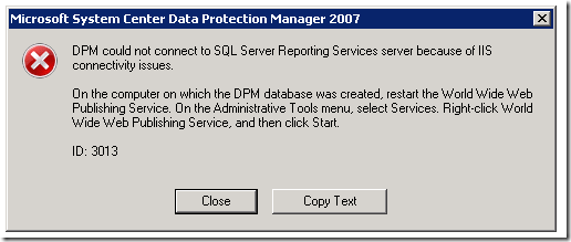 Capture8a thumb Restoring Data Protection Manager (DPM) Database onto a new server system center data protection manager