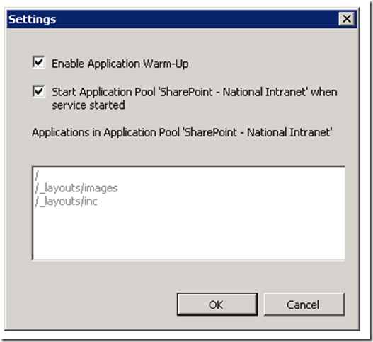image thumb3 Warm up your SharePoint Web Applications on Windows 2008 R2 using the IIS 7.5 Application Warm Up module sharepoint 2007 sharepoint