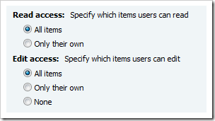 image thumb6 Item level permissions for InfoPath forms via SharePoint Designer Workflows sharepoint 2007 sharepoint infopath
