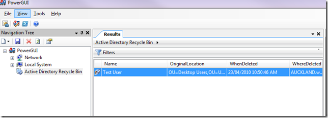 image thumb35 Enabling the Active Directory Recycle Bin Feature on Windows 2008 R2 windows 2008 r2 windows windows