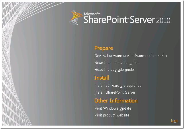 clip image001 thumb Installing SharePoint 2010 using Least Privilege Service Accounts sharepoint 2010 sharepoint
