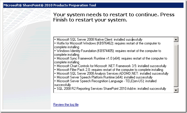 clip image004 thumb Installing SharePoint 2010 using Least Privilege Service Accounts sharepoint 2010 sharepoint