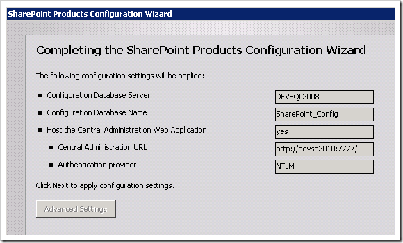 clip image019 thumb Installing SharePoint 2010 using Least Privilege Service Accounts sharepoint 2010 sharepoint