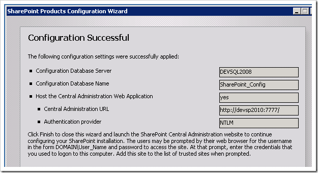 clip image021 thumb Installing SharePoint 2010 using Least Privilege Service Accounts sharepoint 2010 sharepoint