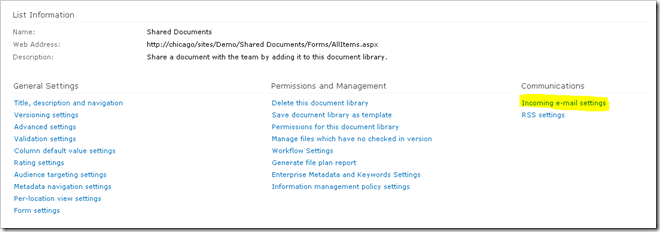 image thumb33 Configuring incoming email in SharePoint 2010 with Exchange   Step by Step Guide sharepoint 2010 sharepoint