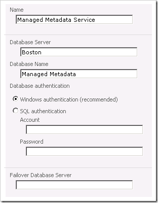 image thumb55 Configuring the User Profile Service in SharePoint 2010 sharepoint 2010 sharepoint