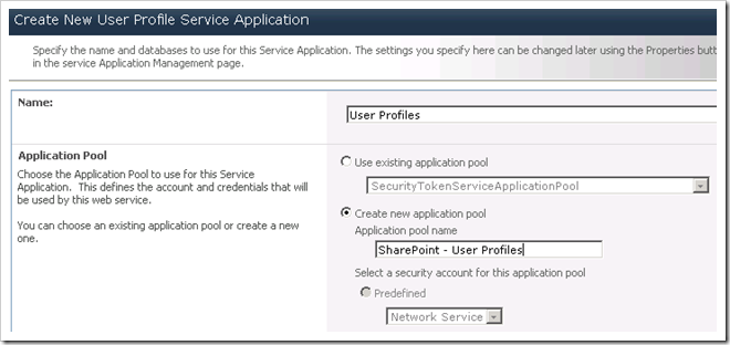 image thumb59 Configuring the User Profile Service in SharePoint 2010 sharepoint 2010 sharepoint