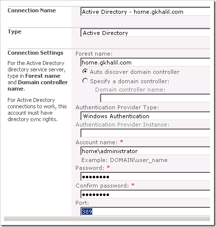 image thumb70 Configuring the User Profile Service in SharePoint 2010 sharepoint 2010 sharepoint