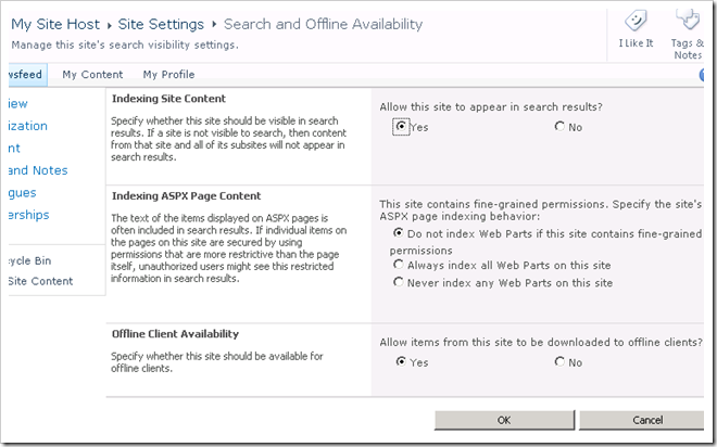 image thumb36 Configuring Enterprise Search in SharePoint 2010