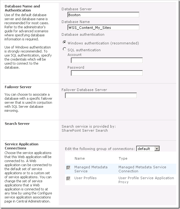 image thumb5 Configuring My Site in SharePoint 2010 sharepoint 2010 sharepoint