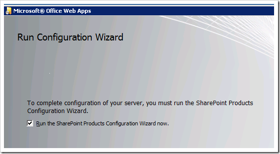 image thumb3 Installing Office Web Apps for SharePoint 2010