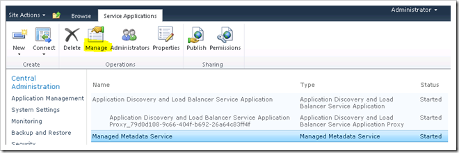 image thumb Configuring the Managed Metadata Service Application in SharePoint 2010 Part 2 sharepoint 2010 sharepoint