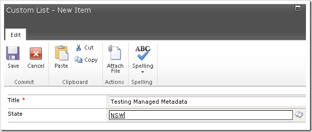 image thumb17 Using the Managed Metadata Service in your SharePoint 2010 Sites Part 3 sharepoint 2010