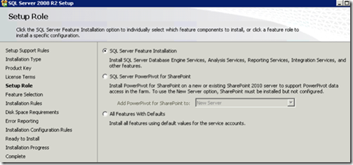 clip image006 thumb Installing and Configuring Reporting Services for SharePoint 2010 in an existing Farm sql sharepoint 2010 sharepoint