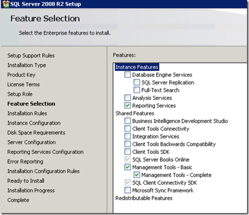 clip image008 thumb Installing and Configuring Reporting Services for SharePoint 2010 in an existing Farm sql sharepoint 2010 sharepoint