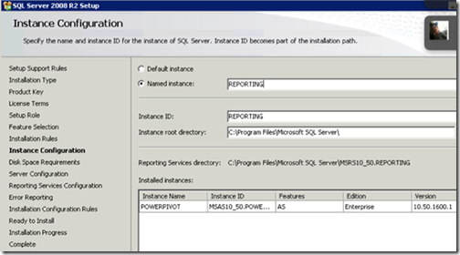 clip image010 thumb Installing and Configuring Reporting Services for SharePoint 2010 in an existing Farm sql sharepoint 2010 sharepoint