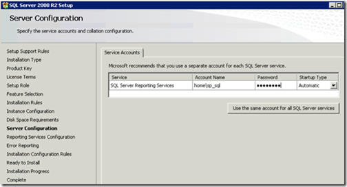 clip image012 thumb Installing and Configuring Reporting Services for SharePoint 2010 in an existing Farm sql sharepoint 2010 sharepoint