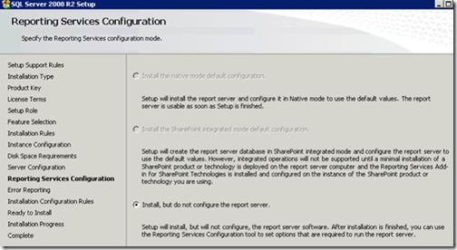 clip image014 thumb Installing and Configuring Reporting Services for SharePoint 2010 in an existing Farm sql sharepoint 2010 sharepoint