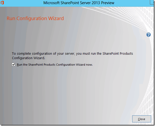 image thumb70 Installing SharePoint 2013 Preview on Windows 2012 Server with SQL 2012 Part 2 sharepoint 2013