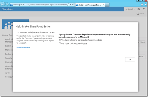image thumb82 Installing SharePoint 2013 Preview on Windows 2012 Server with SQL 2012 Part 2 sharepoint 2013